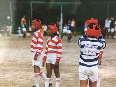 幼少期から高校時代